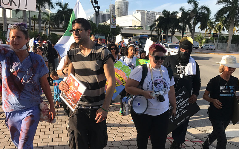 The Official Animal Rights March Miami 2017