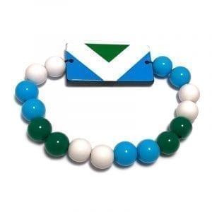 Vegan Flag Wristband