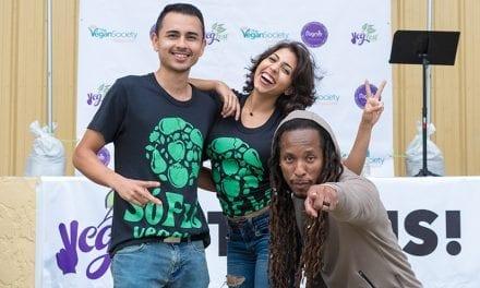 SoFlo Vegans at Palm Beach VegFest on January 20, 2018