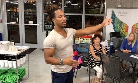 Torre Washington Talks About Fitness and Nutrition at Vegan Fine Foods