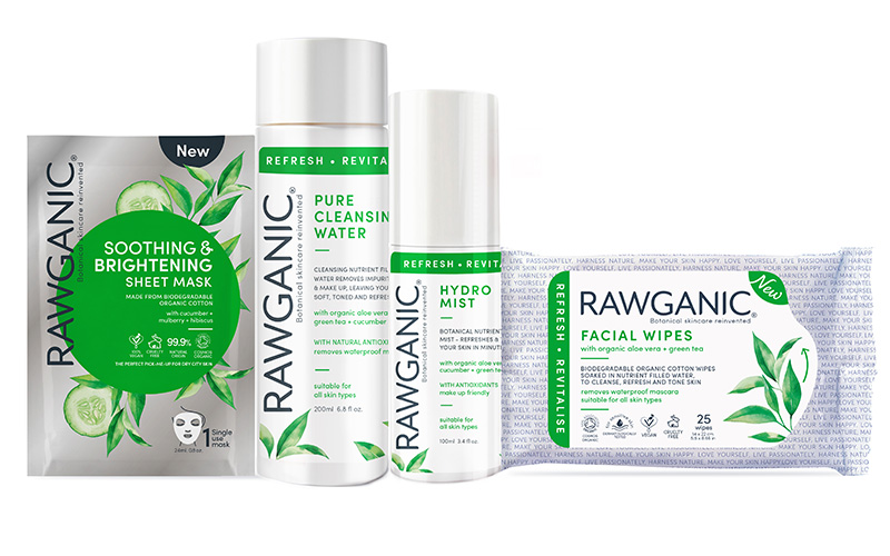 Win an exclusive prize pack from Rawganic!
