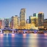Miami Skyline for Miami Veg Fest 2020