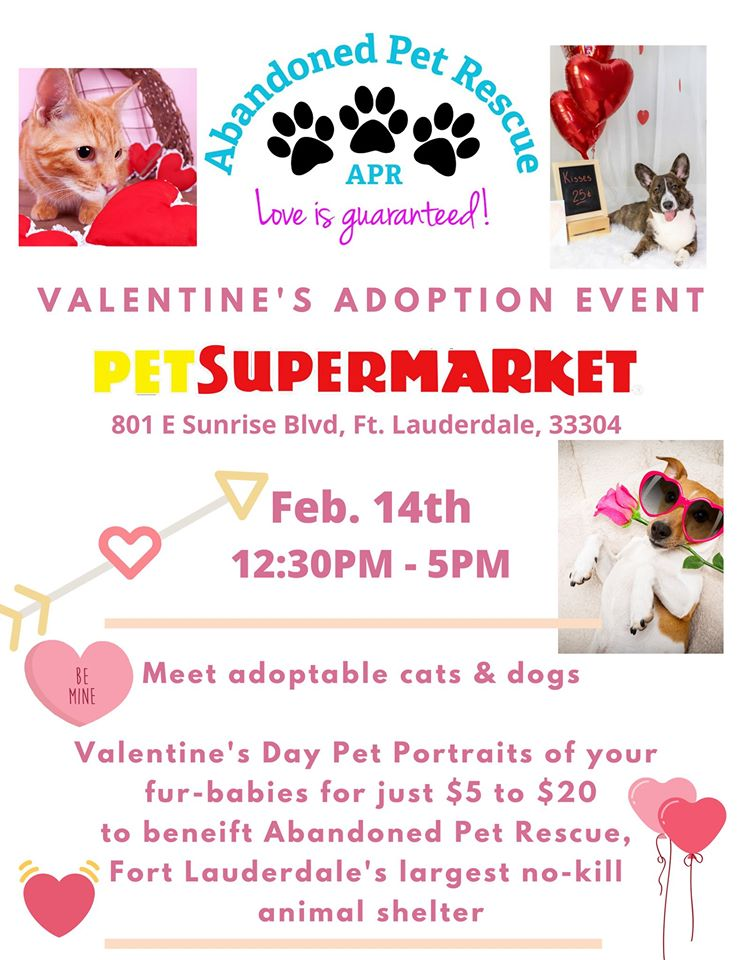 Valentine's Adoption Event