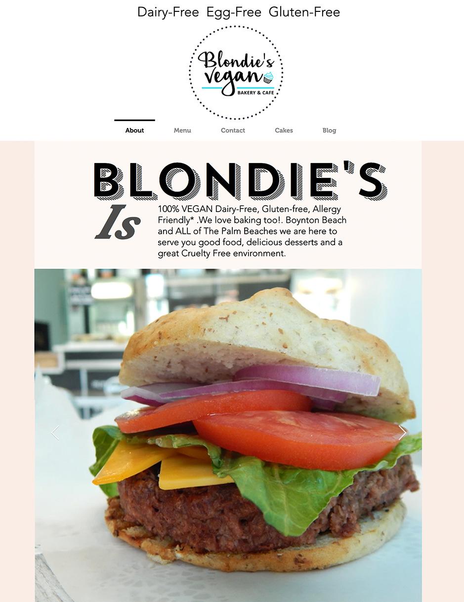 Blondie's Vegan