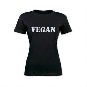 Vegan T-Shirt Women's Cut