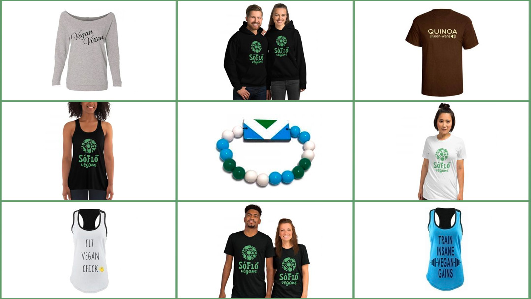 Clothing and fashion from the SoFlo Vegans store