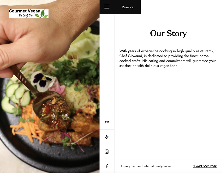 Gourmey Vegan by Chef Gio