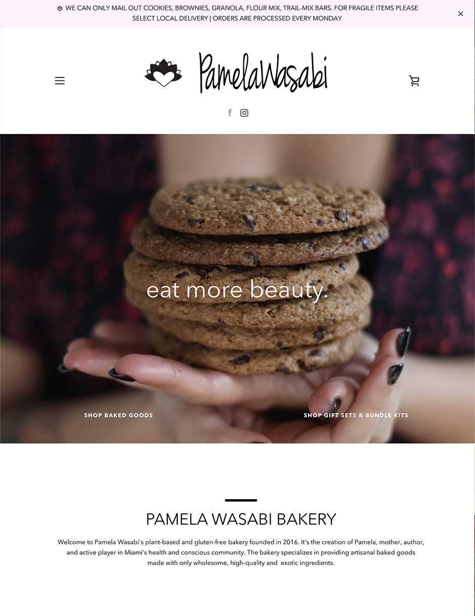 Pamela Wasabi Bakery