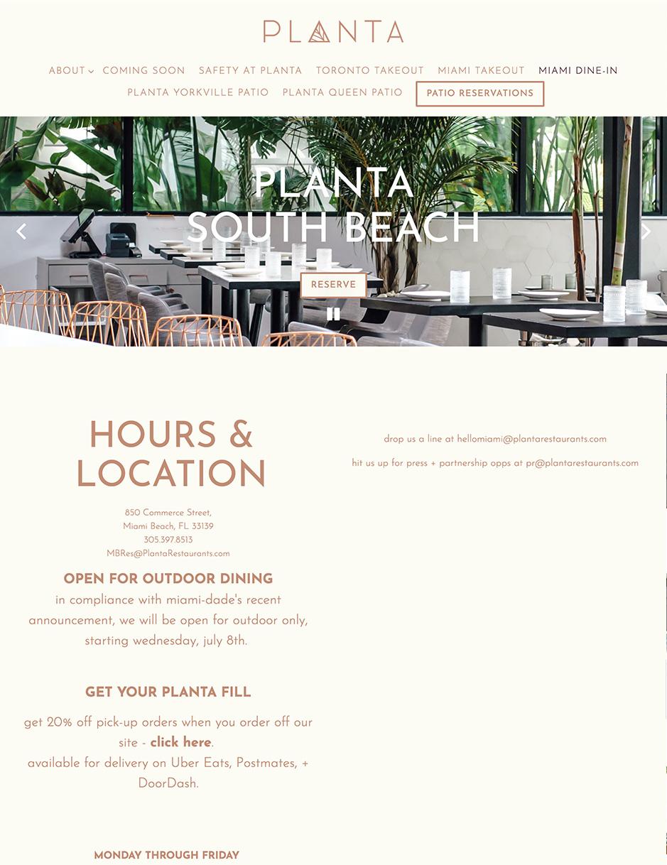 Planta Miami
